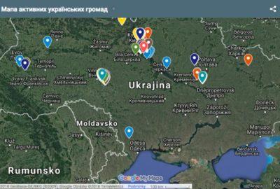 Екодія презентує карту активних сільських громад