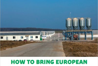 How to bring European environmental standards for Ukraine's livestock production