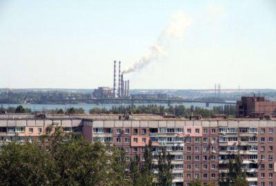 Загрязнения воздуха в Днепропетровской области