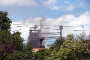 Mariupol or Akhmetovsk? Air Pollution in Donbas