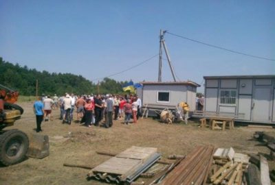 Battle Against Mink Farm in Shulgivka