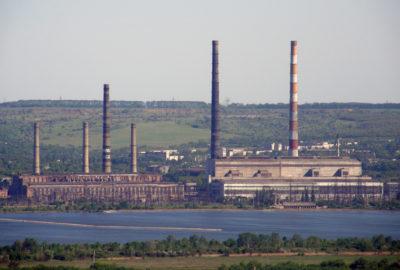 Слов'янськ: чорний смог, «рудий хвіст»