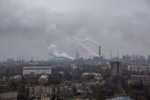 Виставка: Промислове забруднення повітря Україні 2020